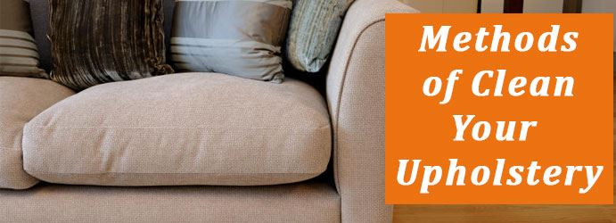 Methods Of Upholstery Cleaning