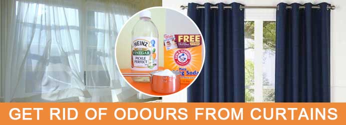 Get rid of odours from curtains